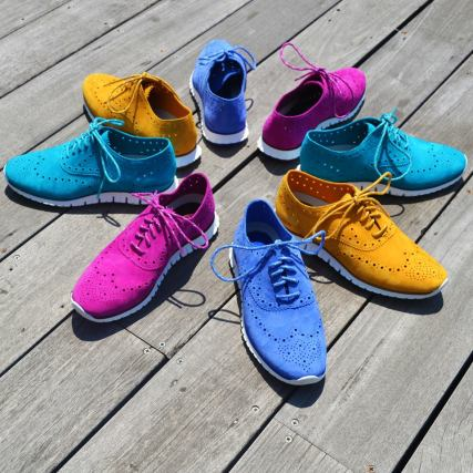 ZeroGrand for Women color palette (www.facebook.com/colehaan)