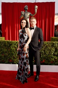 LOS ANGELES, CA - JANUARY 30: Actors Annie Parisse (L) and Paul Sparks attend The 22nd Annual Screen Actors Guild Awards at The Shrine Auditorium on January 30, 2016 in Los Angeles, California. 25650_014 (Photo by Larry Busacca/Getty Images for Turner)