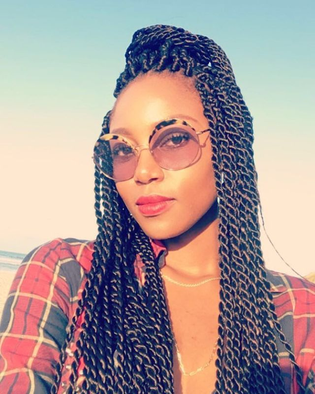 we are feeling yvonne nelson's brand new braid hairstyle - fpn