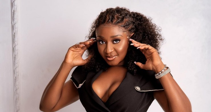 Ini Edo Stepped Out Last Night In A Dramatic Jumpsuit