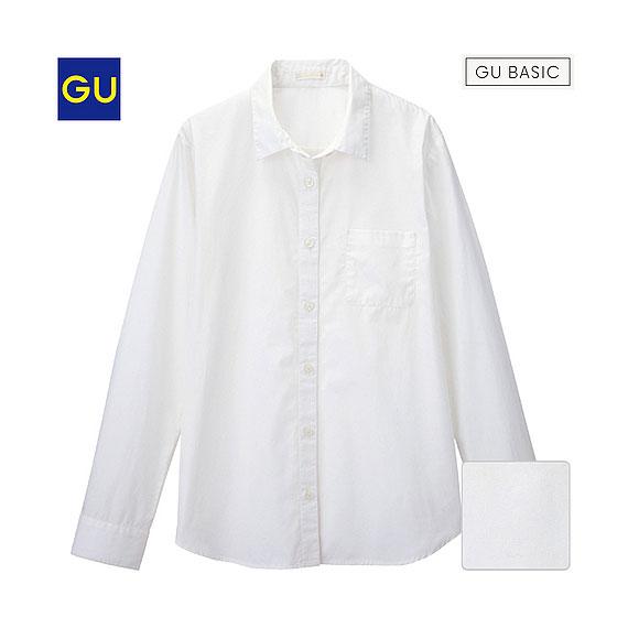 ウォッシュブロードシャツ