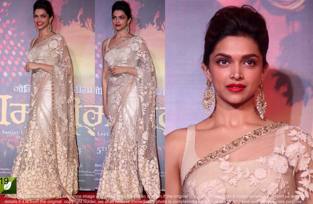 Image result for deepika padukone saree