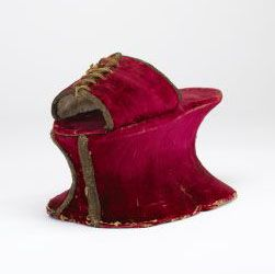 16th century Italian chopines Courtesy of the Bata Shoe Museum