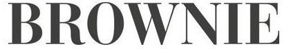 Brownie Logo Fashion Retail