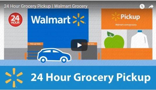 Walmart Grocery 24 hour pick up
