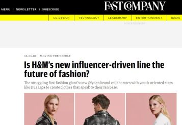 Is H&M new influencer-driven line the future of fashion_ Fast Company_ Fashion retail industry