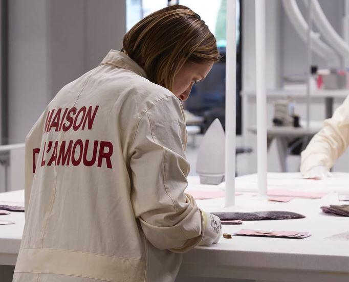 Gucci artisans designers in Art Lab experimental laboratory luxury fashion retail