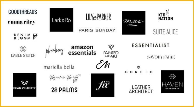 Amazon Fashion private label brands