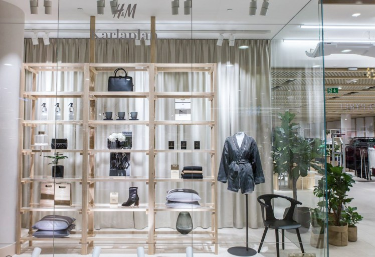 Open Studio Curated Store tailored neighborhood premium products H&M new store