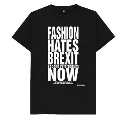 Fashion politics activism brands against brexit