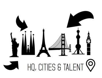 Headquarters cities talent location