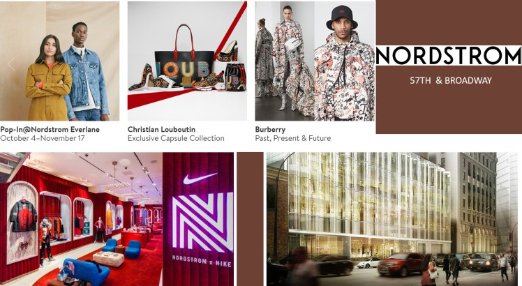 Nordstrom flagship store NY Broadway customer experience fashion retail