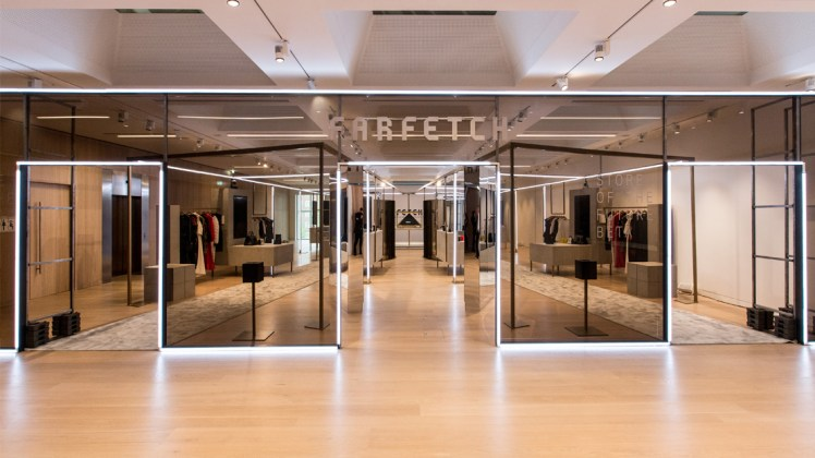 The Store of The Future fashion retail luxury omnichannel technology_Farfetch