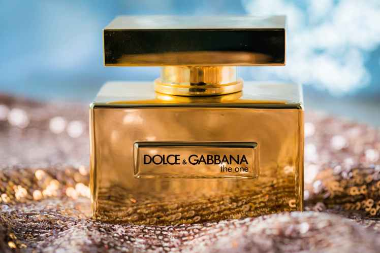 dolce and gabbana perfume bottle