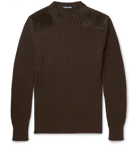 Tom Ford Panelled Knit