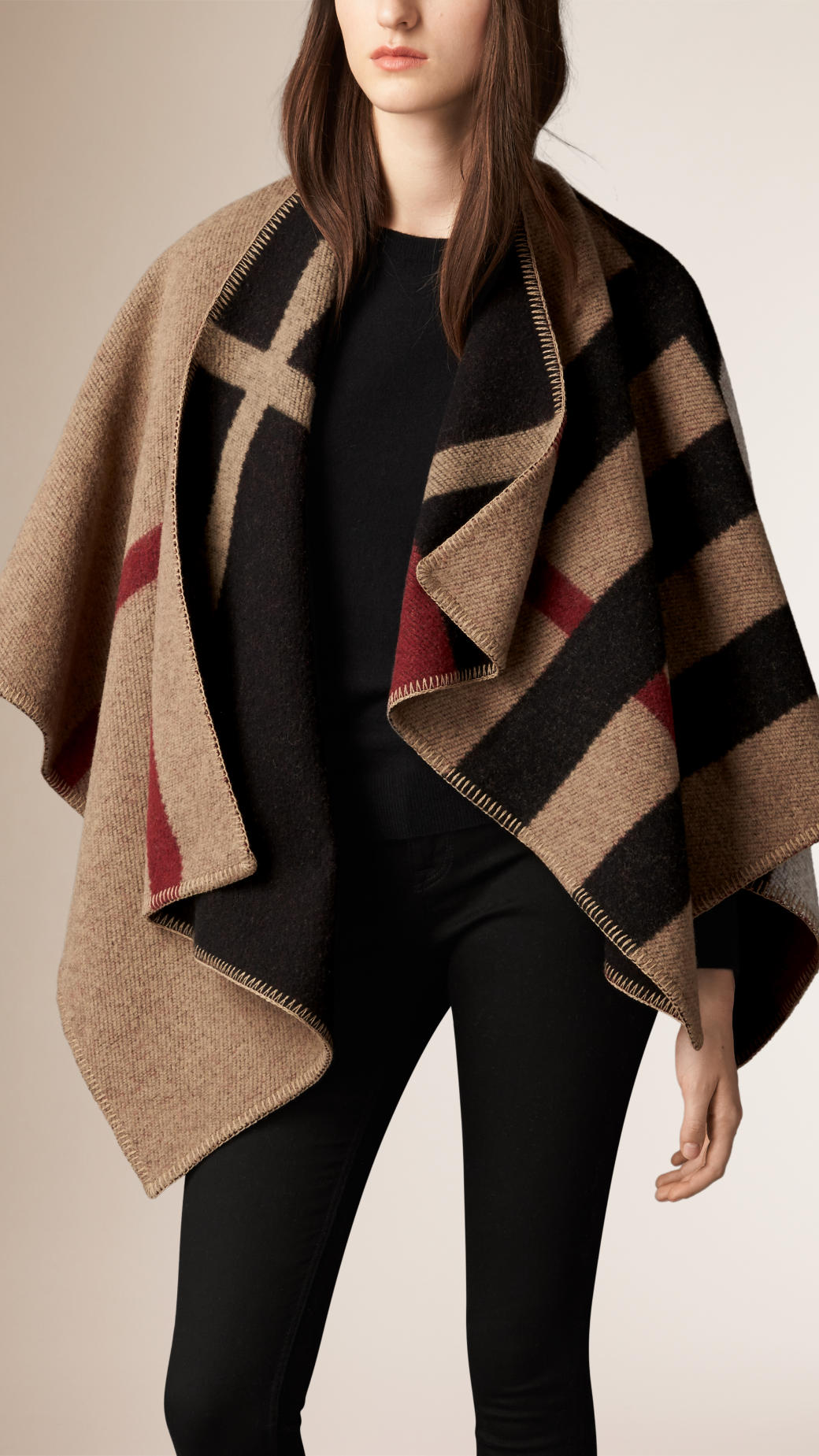 burberry-wool-cashmere-blanket-poncho-house-check