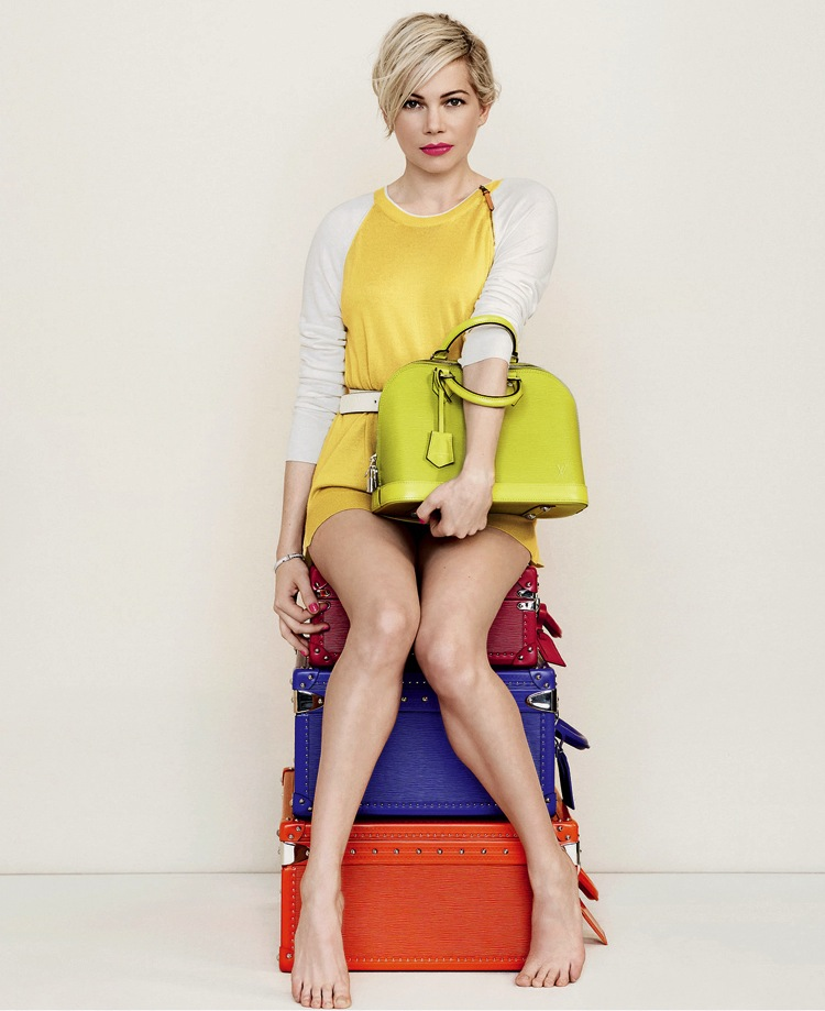 Michelle-Williams-Spring-2014-Louis-Vuitton-Handbag-Campaig-LV-2