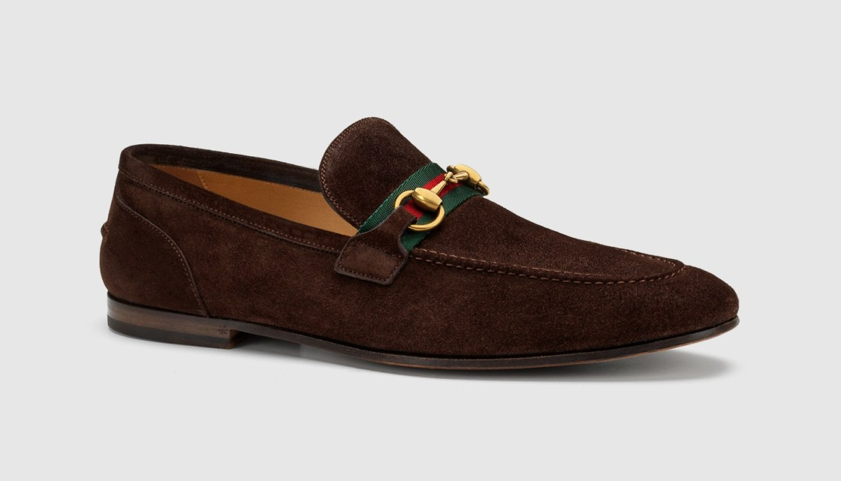 Suede Horsebit Loafer