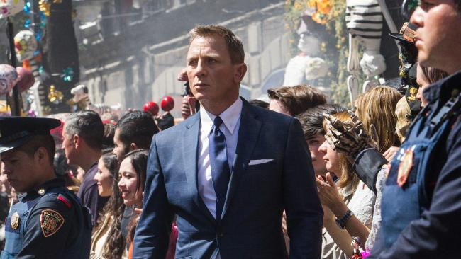 Tom Ford James Bond Spectre Blue Suit