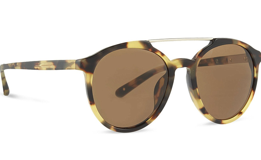3 1 Phillip Lim PI90 Tortoise Shell Aviator Sunglasses