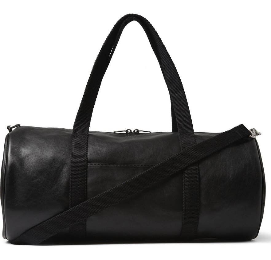 Saint Laurent Full Grain Leather Holdall Bag