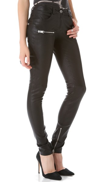 anine-bing-moto-leather-pants