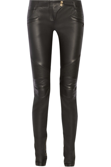 balmain-moto-style-leather-pants