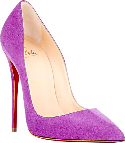 christian louboutin so kate pumps purple