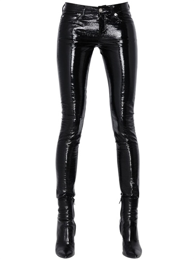 saint-laurent-faux-patent-leather-skinny-pants