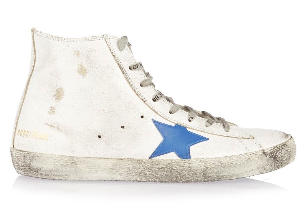 Golden Goose Deluxe Brand Francy High Top Leather Sneakers