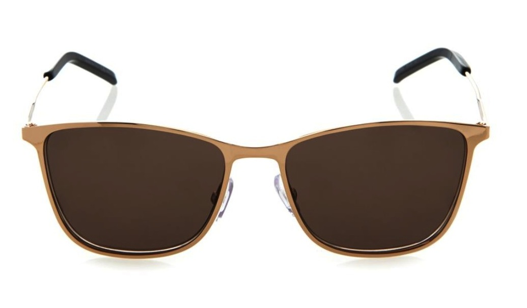 Saint Laurent Square Framed Metal Sunglasses