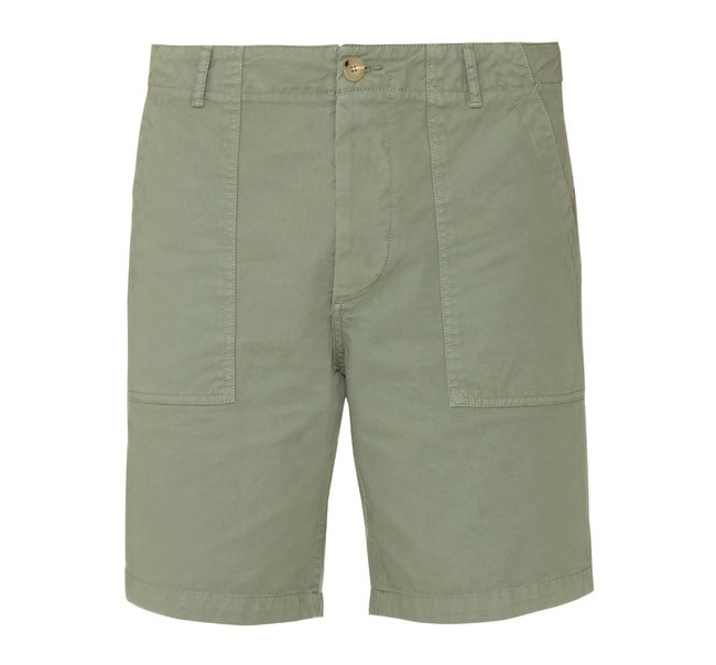 maison_kitsune_worker_patch_pocket_cotton_gabardine_shorts