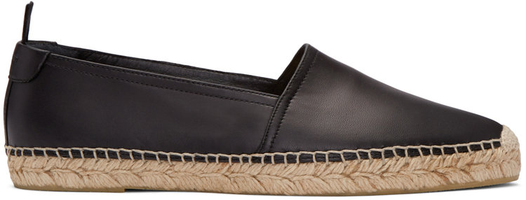saint_laurent_black_leather_espadrilles