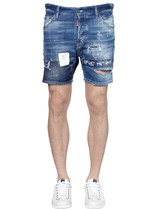 dsquared_destroyed_stretch_cotton_denim_shorts