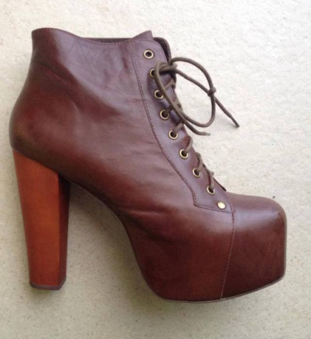 Jeffrey Campbell cuoio