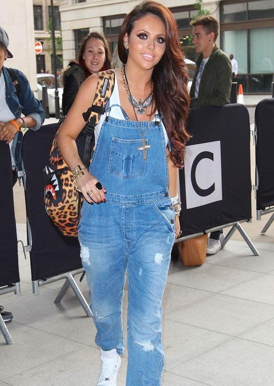 salopette jeans moda