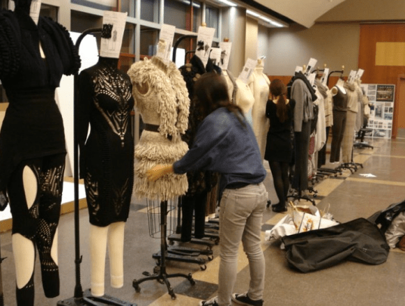Placing the outfits