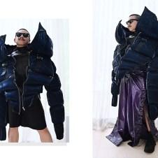 Six-pack Puffer Coat.
