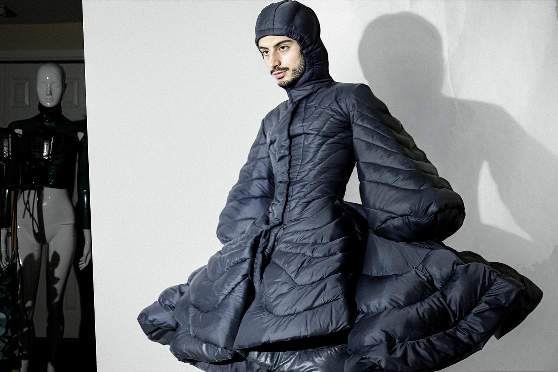 Kenny Naranjo in Puffer Jacket