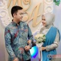 Model Baju Kebaya Couple Panjang Grey Payet Flower