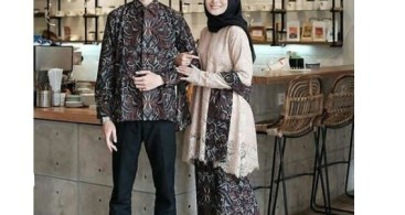 Model Baju Kebaya Couple Selendang Batik Coksu