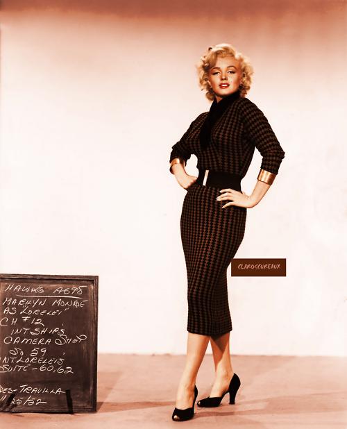 Marilyn Monroe Casual Style
