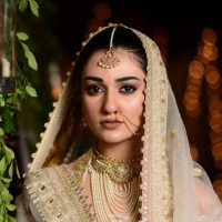 Actress Sarah Khan Bridal Photos in Drama Abdullahpur Ka Devdas