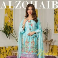 Buy Online Mahnoor Embroidered Collection 2021 by Al Zohaib Textile