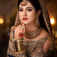Sarah Khan Latest Bridal Photo Shoot By Farhan N Faizan