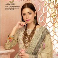Riaz Arts Mahee Cotton Thread Chikankari Lawn 2020 Embroidered Crinckle Dupatta Price Buy Online