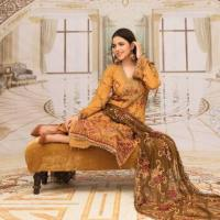 Rida Swiss Viol Premium Embroidered Collection 2021 by H&H Textile