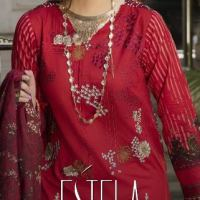Salitex Estela Embroidered Lawn Collection 2021 For Spring Summer