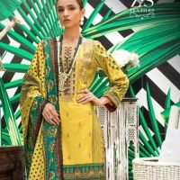 ZS Textiles Signature Icon Embroidered Lawn Collection 2020 for Women
