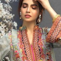 Firdous Digital Lawn Prints Collection 2021 by Firdous Concepts Store Buy Online With Price